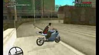 GTA San Andreas Bike Stunts (Video 4) gta san andreas ����� ������