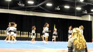 Royal Cheer Academy Princess Mini cheerleaders age 5-8 princess age