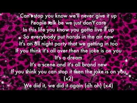 The Joke Is On You (Icarly Song) Lyrics + Download link