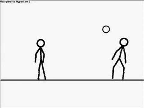Freestyle Football (Soccer) Tricks - Pivot Stickfigure