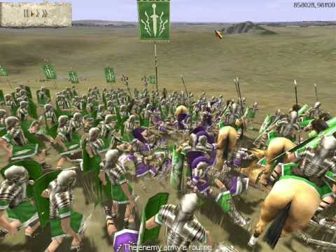 Rome Total War Online Battle: 5 Player Free-For-All