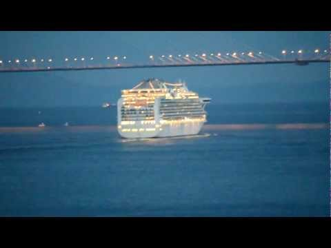 Superliner «Diamond Princess» left Vladivostok