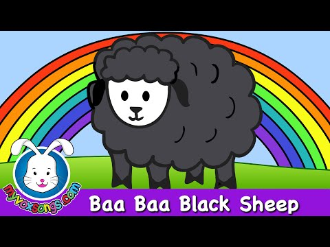 Baa Baa Black Sheep - nursery rhymes and baby songs read and learn the poem black sheep