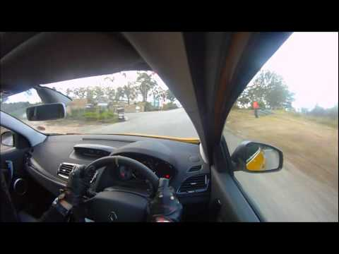 On-board the Renault Megane RS Trophy 265: 2012 Renault Simola Hillclimb