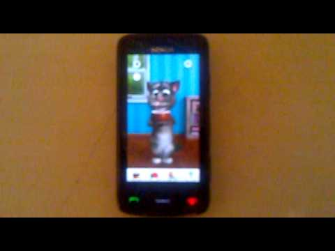 Talking tom cat application for symbian users